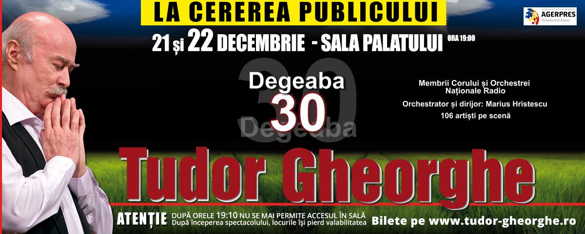 DEGEABA slide site Tudor Gheorghe